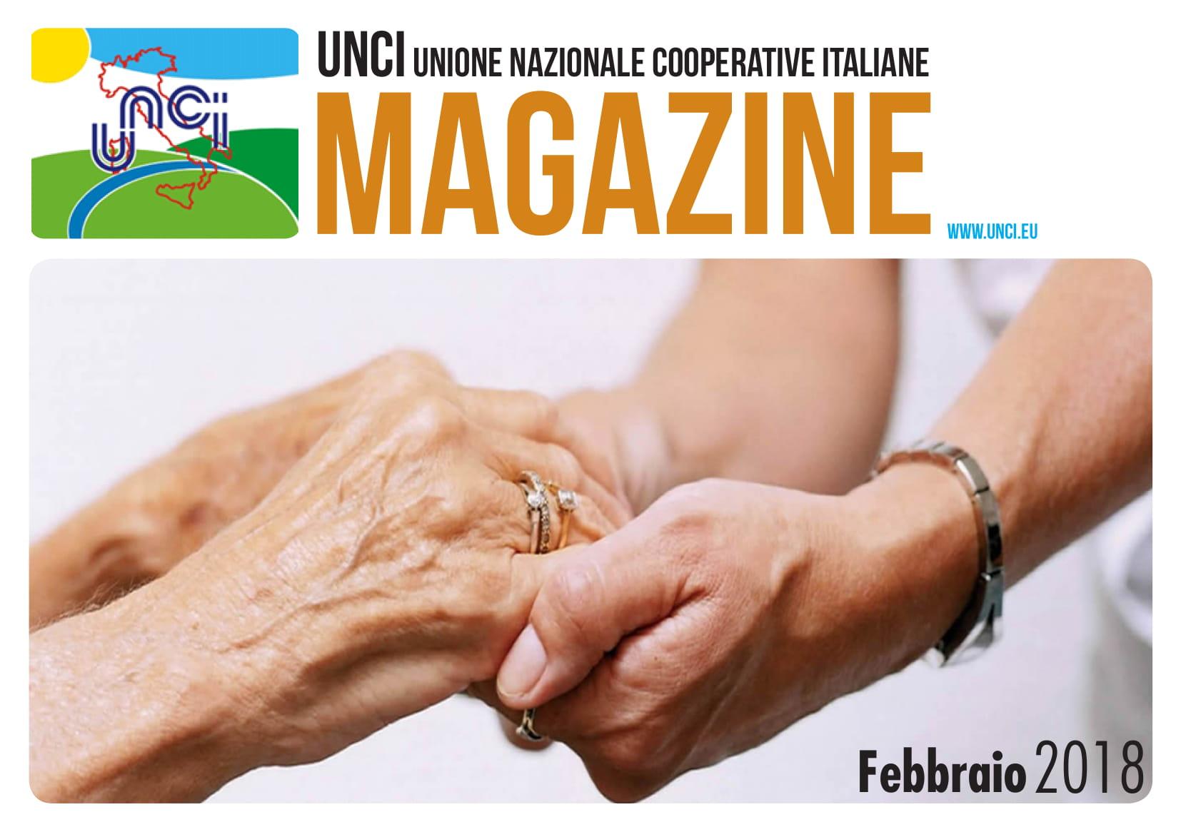 Cover Magazine UNCI febbraio 2018