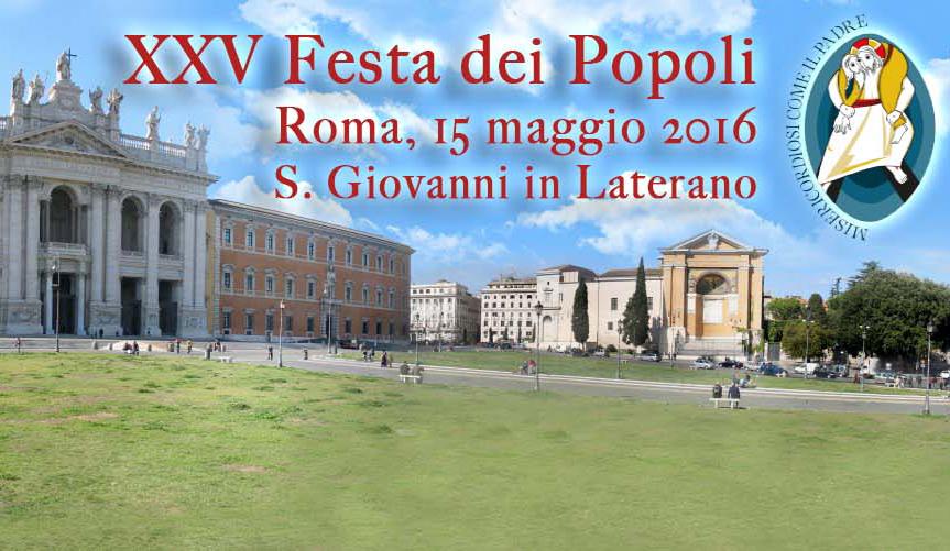 Il 15 maggio a Roma la Festa dei Popoli 2016