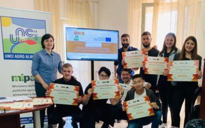 Consegna diplomi Erasmus SEEDS