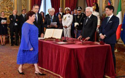 UNCI Agroalimentare augura buon lavoro al neo ministro delle Politiche Agricole Alimentari e Forestali Teresa Bellanova