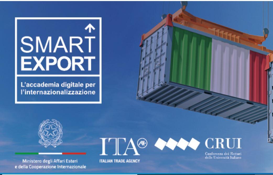Smart Export- l'accademia digitale per l'internazionalizzazione