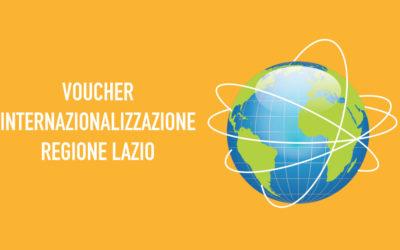 Voucher Internazionalizzazione – Regione Lazio I servizi per l'export in collaborazione con le Camere di Commercio Italiane all'Estero