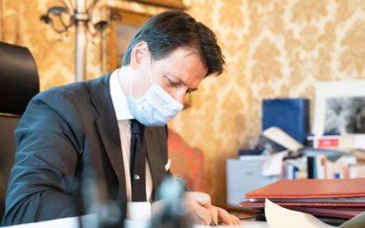 Coronavirus, il Presidente Conte firma il Dpcm del 18 ottobre 2020